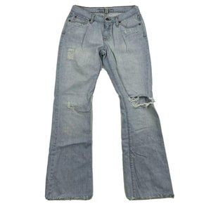 Abercrombie & Fitch Emma Bootcut Light Wash Jeans